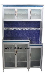 Rak Piring 3 Pintu Magic Com Standard Lis